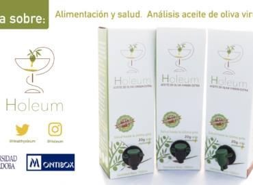 Alimentación y salud. Análisis del aceite de oliva virgen extra