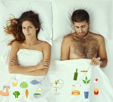 ¿Existe relación entre la dieta y la disfunción eréctil?